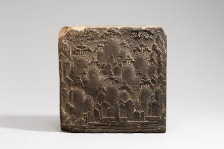 'Brick with Landscape Design', 7th century