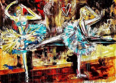 Domingo Zapata, 'Bailarinas', 2019