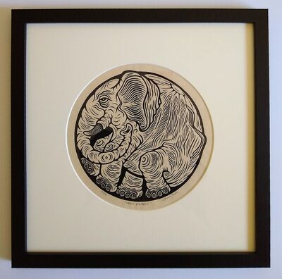 Thomas Rude, 'Orbis Elephas', 2020