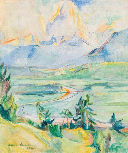 Anton Mahringer, 'Landscape in Gail Valley', 1936