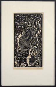 Alfonso Ossorio, 'Ab Occultus (DT)', 1936