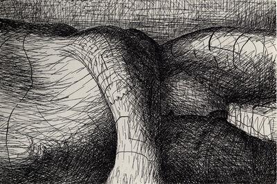 Henry Moore, 'Elephant Skull Plate VI', 1969
