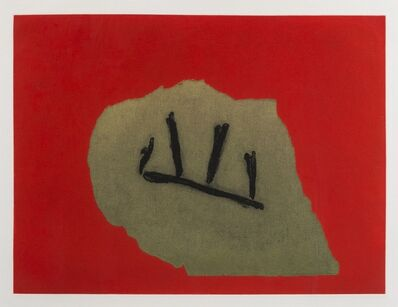 Robert Motherwell, 'Australian Stone (Belknap 314)', 1983-1984