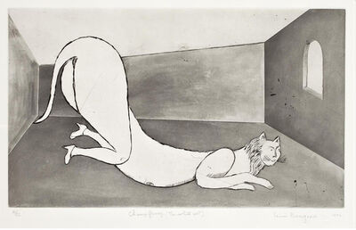 Louise Bourgeois, 'The White Cat (Champ Fleury)', 1994