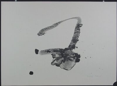 Robert Motherwell, 'Calligraphy', 1965-1966