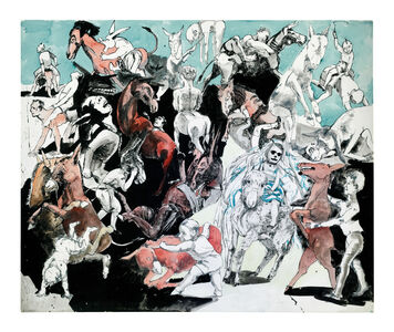 Paula Rego, 'Island of the Lights from Pinocchio', 1996
