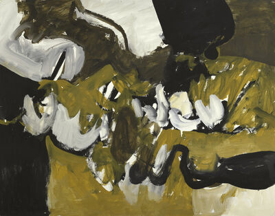 Charlotte Park, 'Untitled (Black, White, and Brown VIII)', ca. 1955