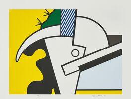 Roy Lichtenstein, 'Bull Head II, from Bull Head Series', 1973