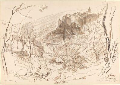 Edward Lear, 'View of Ceriana', 1870