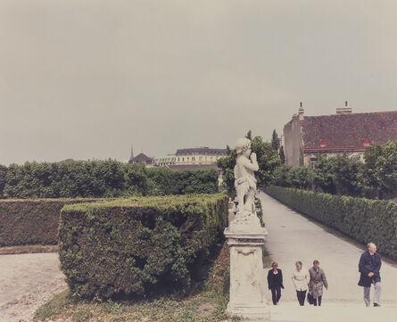 Luigi Ghirri, 'Belvedere, Vienna (Serie: Un piede nell'Eden)', 1984