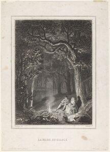Jean Jacques Outhwaite after Charles-François Daubigny, 'Le Mare au diable'