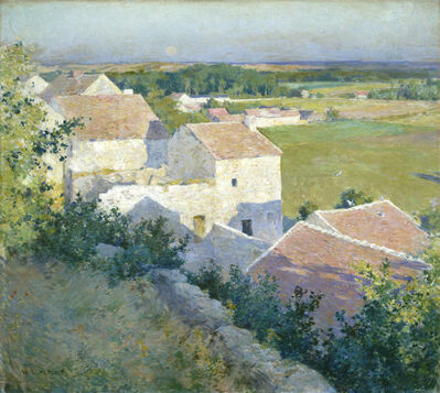 Willard Leroy Metcalf, 'Midsummer Twilight', ca. 1890