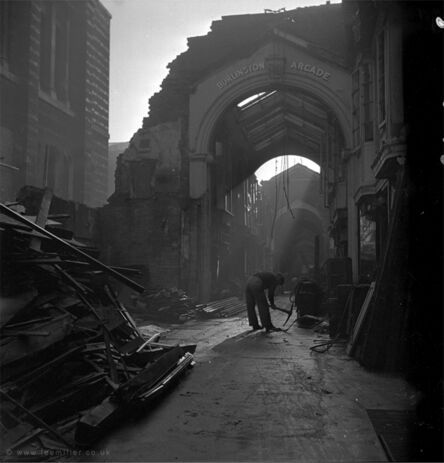 Lee Miller, 'Burlington Arcade, London, England', 1940