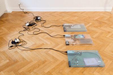 Yuri Pattison, 'dust, scraper, fan .2 (working title)', 2015
