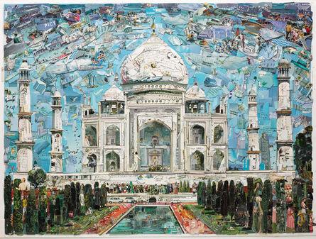 Vik Muniz, 'Postcards from Nowhere: Taj Mahal', 2015