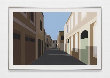 Julian Opie, 'French Village 3.', 2021