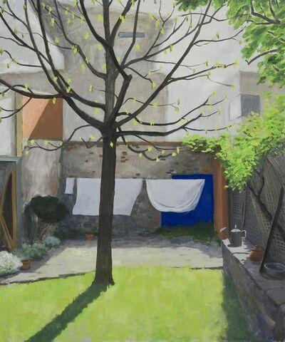Kristin Headlam, 'The Blue Square: The cruellest month', 2013