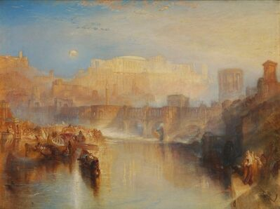 J. M. W. Turner, 'Ancient Rome; Agrippina Landing with the Ashes of Germanicus', 1839