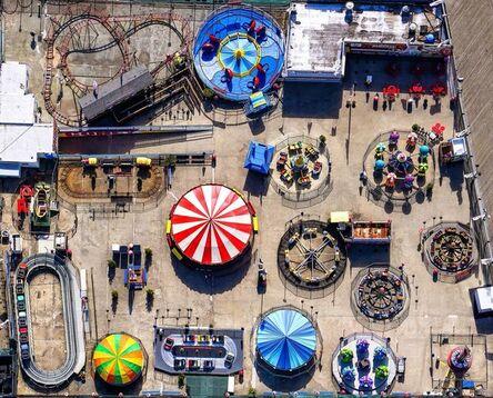Donn Delson, 'Coney Island Pinball', 2017