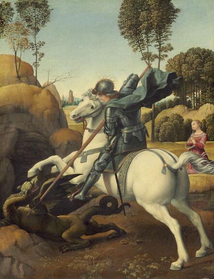 Raphael, 'Saint George and the Dragon', ca. 1506