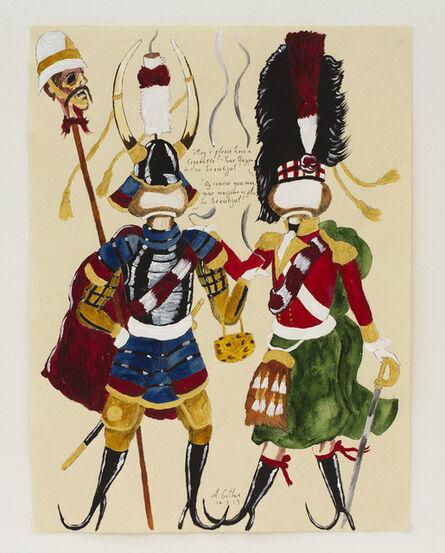 Andrew Gilbert, 'Samurai Meets Scottish Soldier', 2013