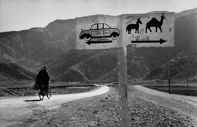 Marc Riboud, 'Road to Khyber Pass'