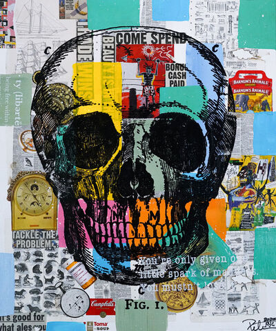 Peter Tunney, 'Skull (Come Spend On The Brain)', 2020