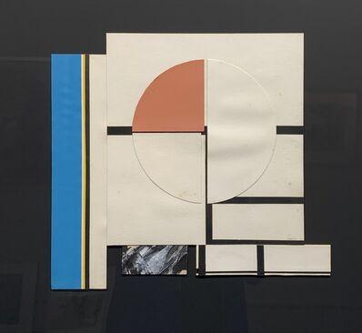 Budd Hopkins, 'Collage Study', 1975