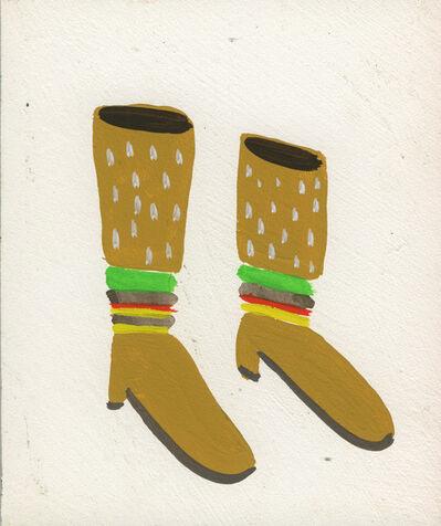 Sandra Wang and Crockett Bodelson SCUBA, 'Burger Boots', 2015