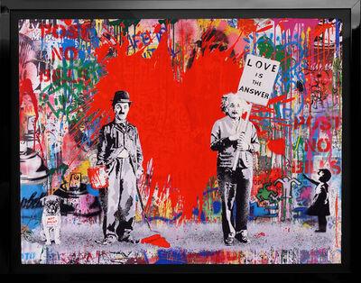 Mr. Brainwash, ''Juxtapose' Unique Painting ', 2020