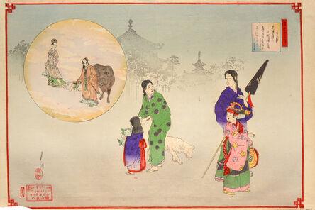 Ogata Gekkō, 'July', 1890