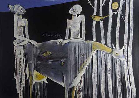P Gnana, 'Adoration', 2014