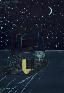 Tom Hammick, 'Night Raft', 2013