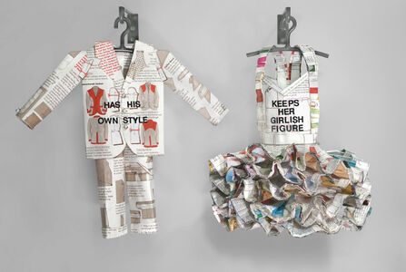 Donna Rosenthal, 'he said... she said - has his own style/keeps her girlish figure', 2020