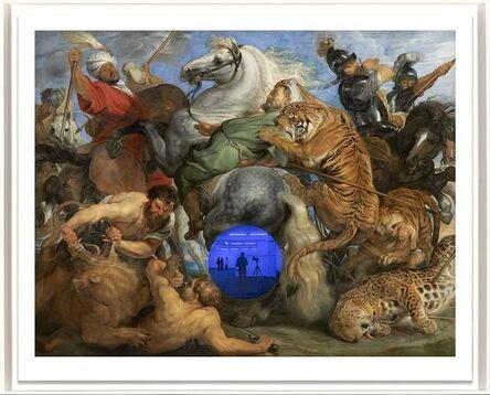 Jeff Koons, 'Gazing Ball (Rubens Tiger Hunt)', 2018