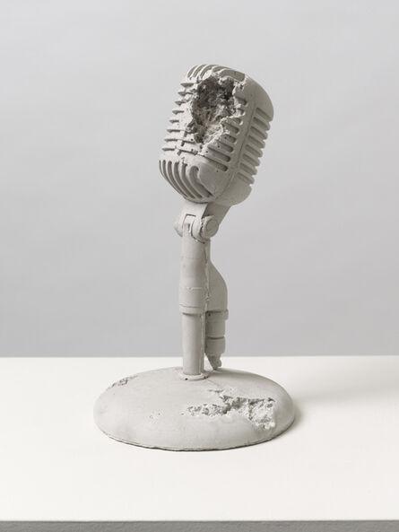 Daniel Arsham, 'Rose Quartz Eroded Microphone', 2014