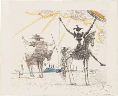 Salvador Dalí, 'Don Quichotte (Don Quixote) (M. & L. 144)', 1966