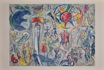 Marc Chagall, 'La Vie  from Derriere Le Miroir', 1968