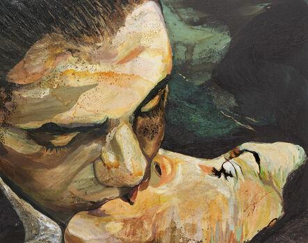 Cornelia Schleime, 'Der Kuss', 2007