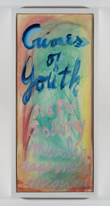 Rene Ricard, 'Crimes of Youth', 1990