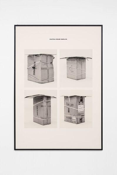 Jojo Gronostay, 'Chateau Rouge Displays II', 2020