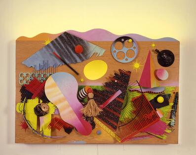 Dan Friedman, 'A Fallen Sky in a Regal Landscape assemblage', 1985