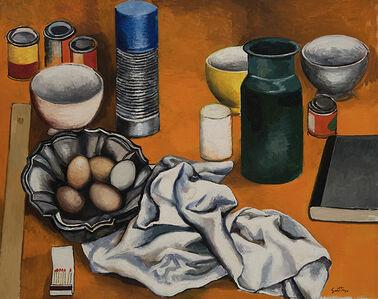Renato Guttuso, 'Oggetti', 1978