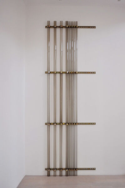 Rita McBride, 'Installation of Glass Conduits', 1999-2003