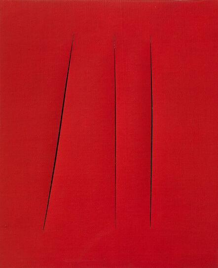 Lucio Fontana, 'Concetto Spaziale, Attese', 1967