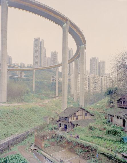 Zhang Kechun, 'Old House Under the Bridge', 2014