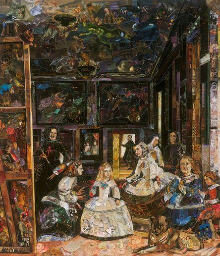 Vik Muniz, 'The Prado Museum (Las Meninas, after Diego Rodriguez de Silva y Velazquez) (Repro)', 2019