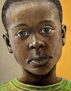 George Velaphi Mzimba, 'Amogelang', 2017
