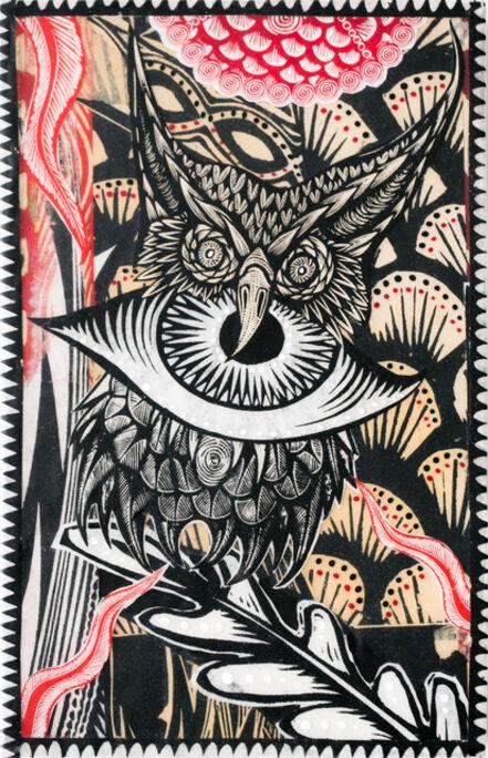 Dennis McNett, 'Owl Medicine', 2018