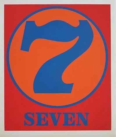 Robert Indiana, 'Seven', 1968 (1997)
